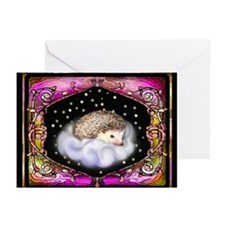 'Hedgie on a Cloud' Quills & Comfort Cards
