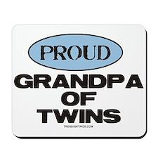 Grandpa of Twins - Mousepad