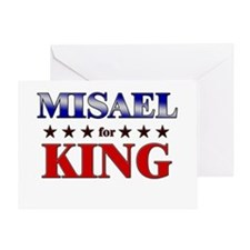 MISAEL for king Greeting Card