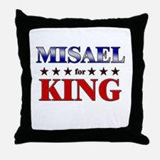 MISAEL for king Throw Pillow