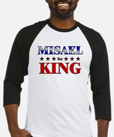 MISAEL for king Baseball Jersey
