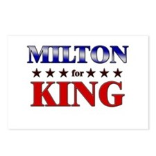MILTON for king Postcards (Package of 8)
