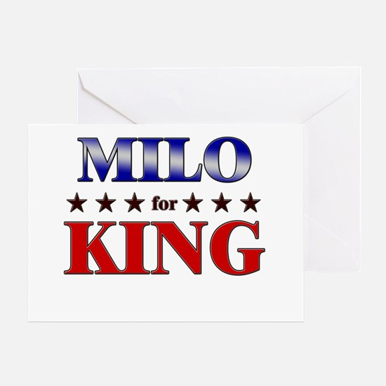 MILO for king Greeting Card