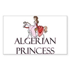 Algerian Princess Rectangle Decal