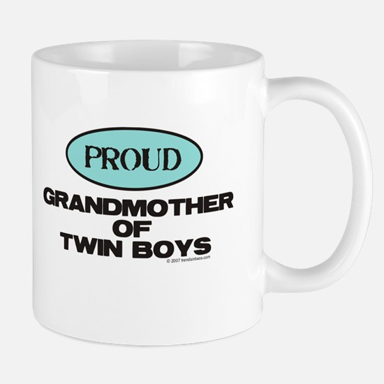 Grandmother of Twin Boys - Mug