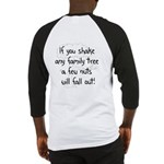 Shaking Family Tree (Black) Baseball Jersey