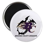 Broome County Dragons Magnet