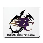 Broome County Dragons Mousepad