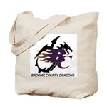 Broome County Dragons Tote Bag