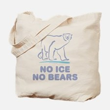 Polar Bears & Climate Change Tote Bag