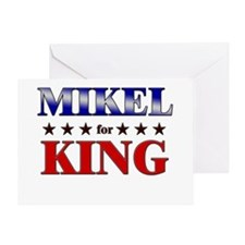 MIKEL for king Greeting Card