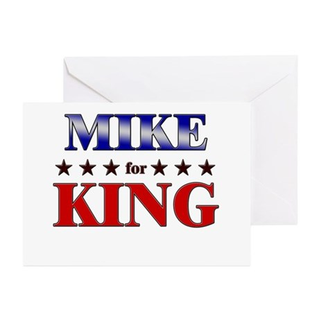 MIKE for king Greeting Cards (Pk of 20)