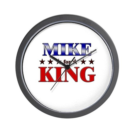 MIKE for king Wall Clock
