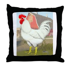 Cornish/Rock Rooster Throw Pillow