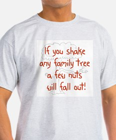 Shaking Family Tree (Red) T-Shirt