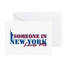 Someone in New York Greeting Cards (Pk of 20)