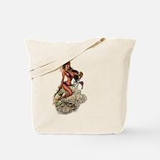 Funny Vert Tote Bag