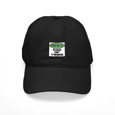 Dad of Twins - Black Cap