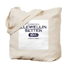 Property of Llewellin Setter Tote Bag