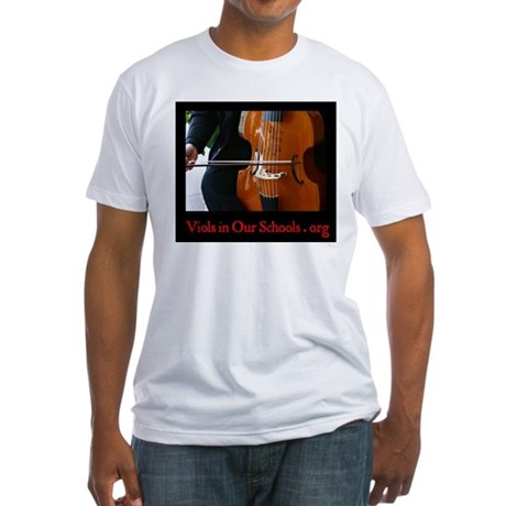 Viols in Our Schools Fitted T-Shirt