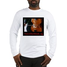 Viols in Our Schools Long Sleeve T-Shirt