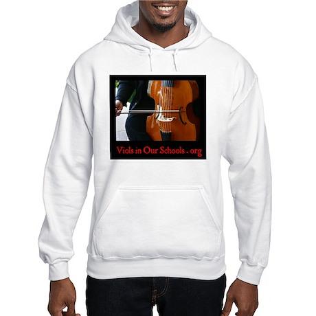 Viols in Our Schools Hooded Sweatshirt