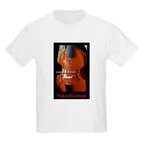 Viols in Our Schools Kids Light T-Shirt