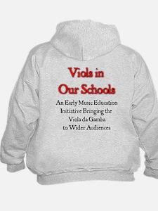 Viols in Our Schools Hoodie