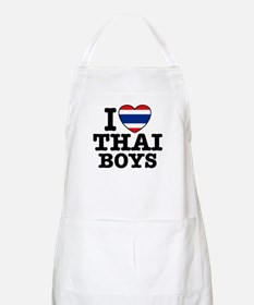 I love Thai Boys BBQ Apron