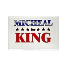 MICHEAL for king Rectangle Magnet (10 pack)