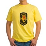 Illinois State Police EOD Yellow T-Shirt