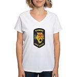 Illinois State Police EOD Women's V-Neck T-Shirt