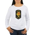 Illinois State Police EOD Women's Long Sleeve T-Sh