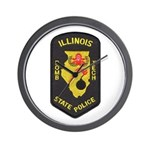 Illinois State Police EOD Wall Clock
