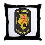 Illinois State Police EOD Throw Pillow