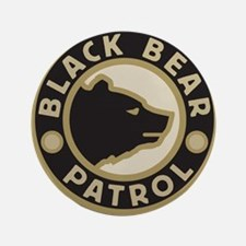 """Black Bear Patrol 3.5"""" Button"""