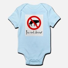 I'm Not Dinner Infant Bodysuit