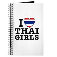 I Love Thai Girls Journal