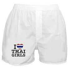 I Love Thai Girls Boxer Shorts