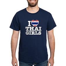 I Love Thai Girls T-Shirt