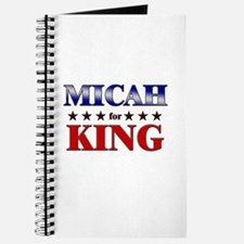MICAH for king Journal