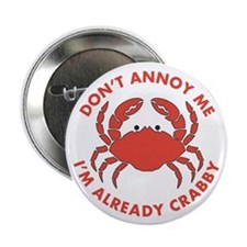 """Dont Annoy Me 2.25"""" Button (10 pack)"""