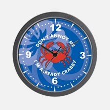 Dont Annoy Me Wall Clock