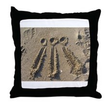 Sand Awen Throw Pillow