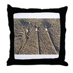 Beach Awen Throw Pillow