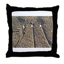 Beach Awen Throw Pillow