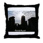 Stonehenge Naturally Magickal Throw Pillow