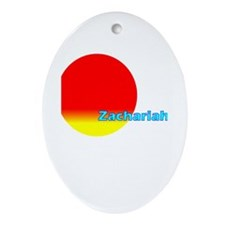 Zachariah Oval Ornament