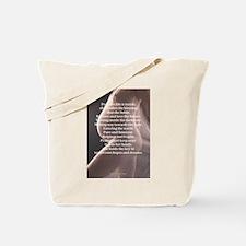 Precious Life Poem Tote Bag