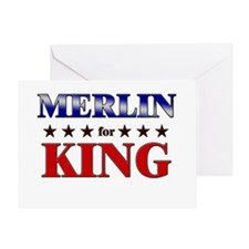 MERLIN for king Greeting Card